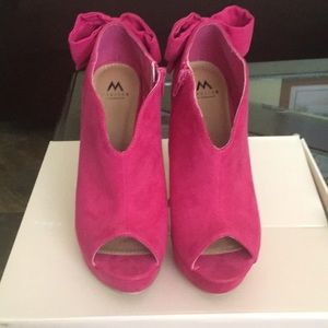 MADISON PINK ALECIA HIGH HEEL SHOES